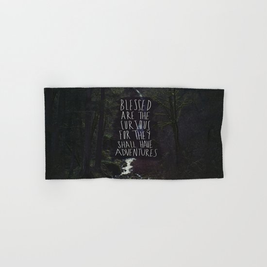 Curious Adventures Hand & Bath Towel