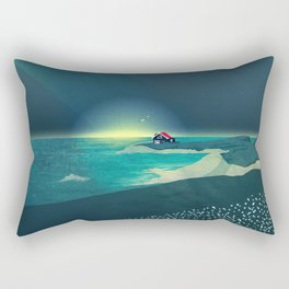House by the Sea Rectangular Pillow