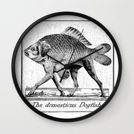 If fishes had legs Wall Clock