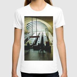 Canary Wharf Underground Station - London Fine Arts Travel Photography T-shirt