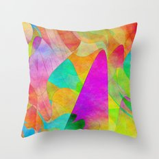 Abstract 2017 007 Throw Pillow