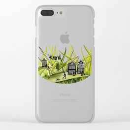 The Green Grass of Home #1 Clear iPhone Case