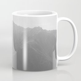 Top of the Rockies B&W Coffee Mug