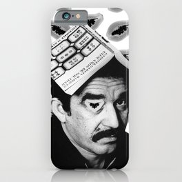 Gabriel García Márquez iPhone Case