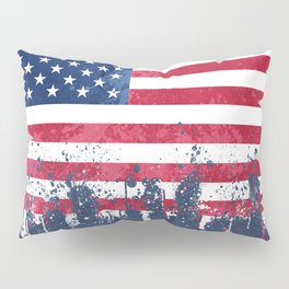 Merican Flag OG Pillow Sham