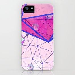 Icosahedron Geometric Shape Constellation Dream iPhone Case