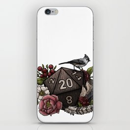 Druid Class D20 - Tabletop Gaming Dice iPhone Skin