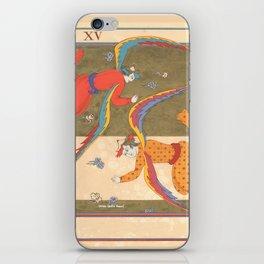 Tarot Card-The Devil-Le Diable iPhone Skin