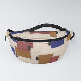 Piet mondrian, composizione in colore B, 1917 Fanny Pack