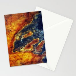 Earth Art Cave Ceiling Stationery Cards