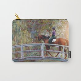 Riding with Monet Carry-All Pouch