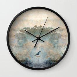 HEAVENLY BIRD SCENE NO3 Wall Clock