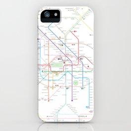 Germany Berlin Metro Bus U-bahn S-bahn map iPhone Case