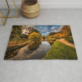 Chirk Canal Autumn Rug