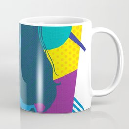 TRUDY :: Memphis Design :: Miami Vice Series Coffee Mug
