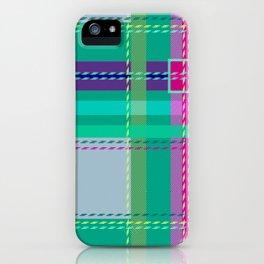 Ugh Plaid iPhone Case
