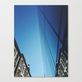 Contrasts Reflected Canvas Print