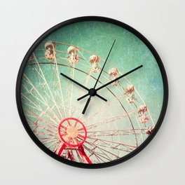 Happy metal blues Wall Clock