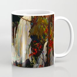 Tom Thomson - Woodland Waterfall - Canada, Canadian Oil Painting - Group of Seven Coffee Mug
