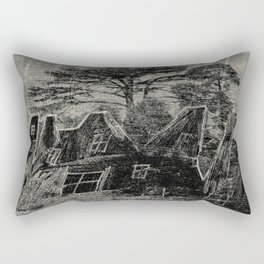 City in the forest Rectangular Pillow