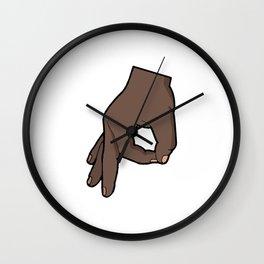 The Circle Game 2 Wall Clock