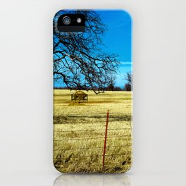 Along The Way In Clyde, Texas iPhone Case