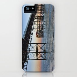 The Boathouse on the Pier. iPhone Case