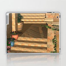 Old Town Stairs and Arches Laptop & iPad Skin