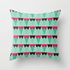 Chocolate Trees Throw Pillow