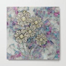 Floral Painting Metal Print