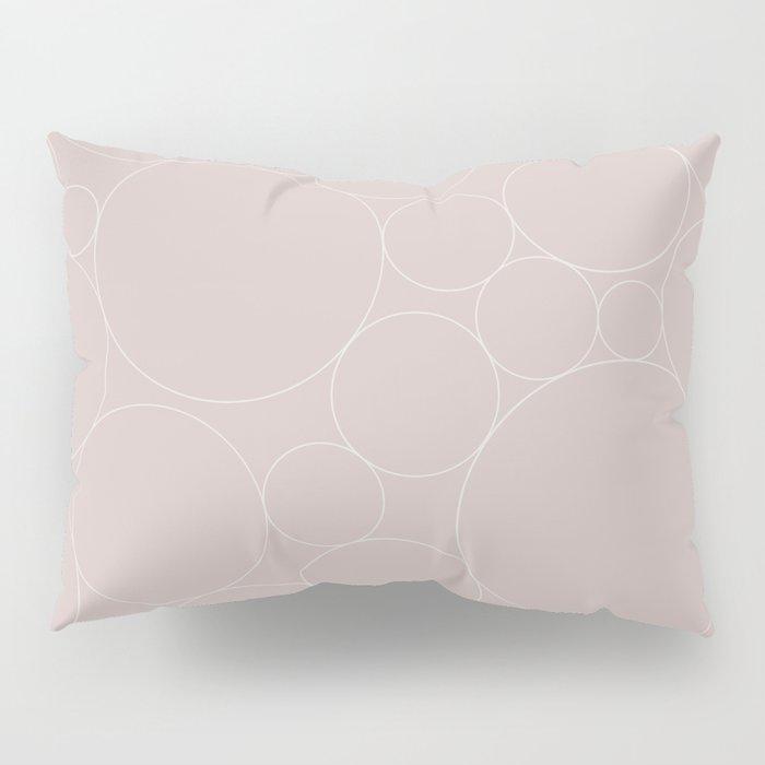 Circular Collage - Neutral Blush Pillow Sham
