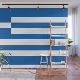 Flag of Greece, High Quality image Wall Mural