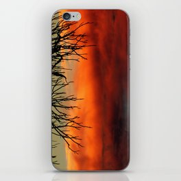 Burning branches iPhone Skin