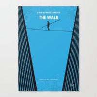 No796 My The Walk minimal movie poster Canvas Print
