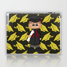 Cute Little Graduation Boy Laptop & iPad Skin