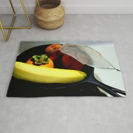 Fruit Fry, Armed And Ready Rug
