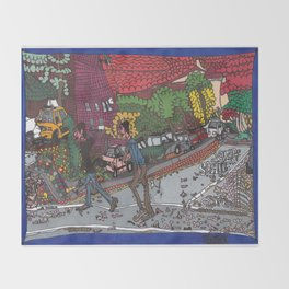 Jills Street - New York Throw Blanket