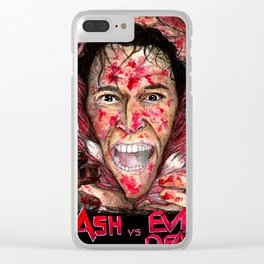 Ash vs Evil Dead Clear iPhone Case