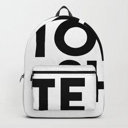 PETE TOWNSHEND'S BLACK Backpack