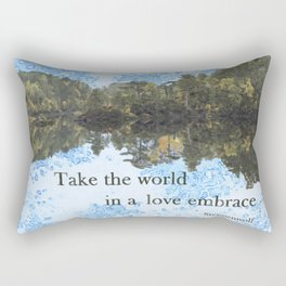World view Rectangular Pillow