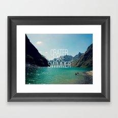 I Lake It Framed Art Print