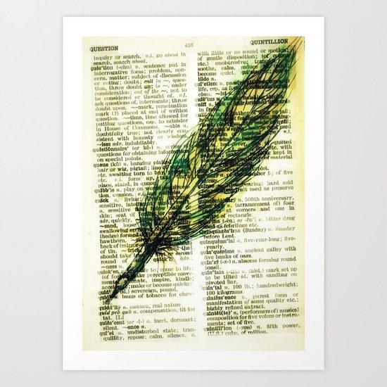 quill n. Art Print
