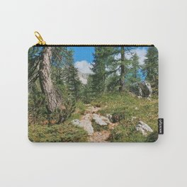 Path through the mountain forest Carry-All Pouch