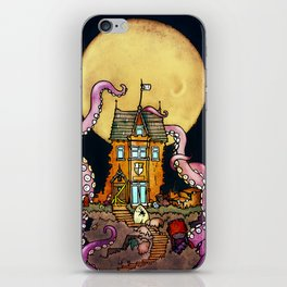 The Midnight Chateau iPhone Skin