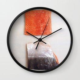 Healthy Fats | Wild-Caught Salmon Wall Clock