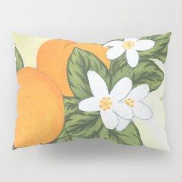 Flowering Orange Tree Pillow Sham
