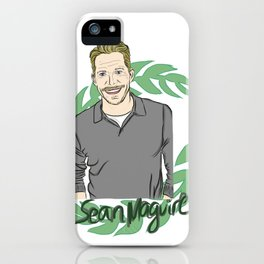 Sean Maguire - Once Upon A Time's Robin Hood iPhone Case