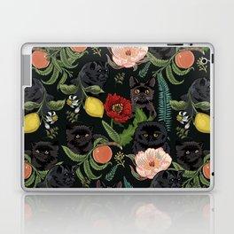 Botanical and Black Cats Laptop & iPad Skin