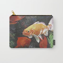 Grassy Plain Goldfish Carry-All Pouch