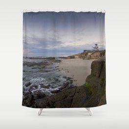 La Jolla Sunset, San Diego, California Shower Curtain